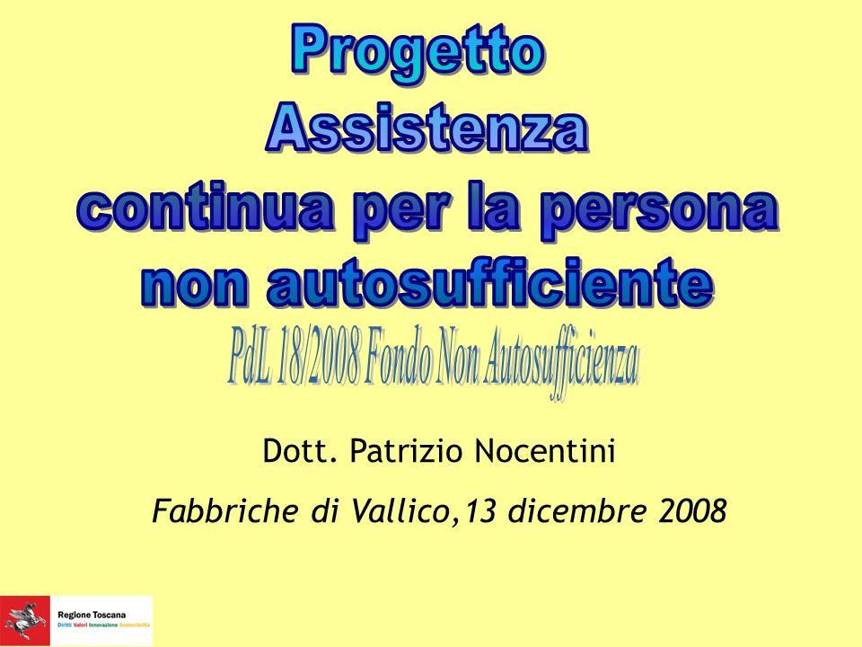 Dott. Patrizio Nocentini Fabbriche di Vallico,13 dicembre 2008