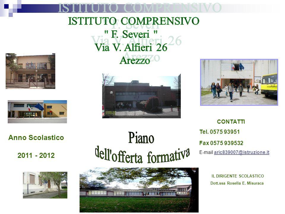 a.s.2009/2010 Anno Scolastico 2011 - 2012 CONTATTI Tel.