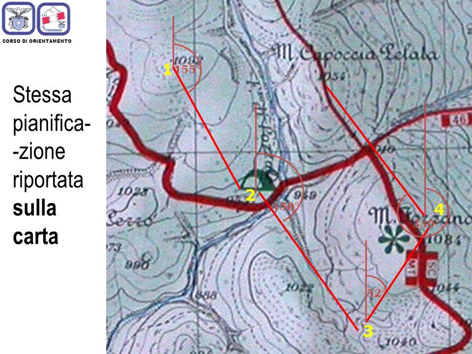 15 Per pianificare un percorso, occorre individuare un insieme di punti chiave, che compongono la rotta verso cui ci si muove per portare 1 2 3 4 Cosè