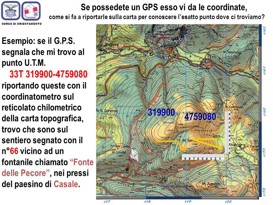 20 Le zone vengono ulteriormente suddivise in QUADTANTI di 100 Km di lato. Vengono individuati da una coppia di lettere, la prima delle quali indica l