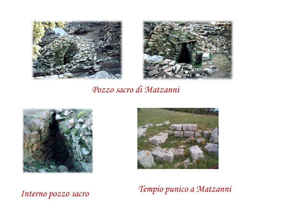Tempio punico a Matzanni Pozzo sacro di Matzanni Interno pozzo sacro