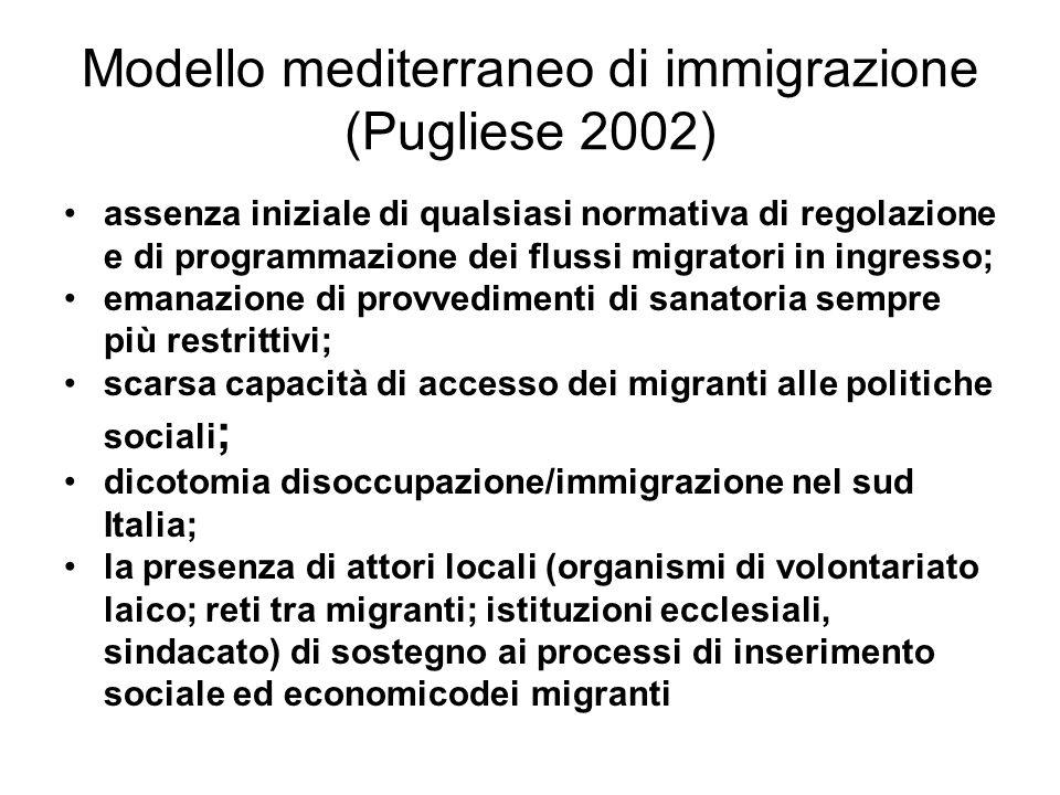 Landamento degli sbarchi dopo gli accordi tra il governo italiano ed il governo libico sulle coste italiane (Puglia, Calabria, Sicilia, Lazio): dal 1° agosto 2008 al 31 luglio 2009: 29.076 migranti dal 1° agosto 2009 al 31 luglio 2010: 3.499 migranti diminuzione dell88% su Lampedusa e le altre isole limitrofe (Linosa, Lampione): dal 1° agosto 2008 al 31 luglio 2009: 20.655 migranti dal 1° agosto 2009 al 31 luglio 2010: 403 migranti diminuzione del 98%.