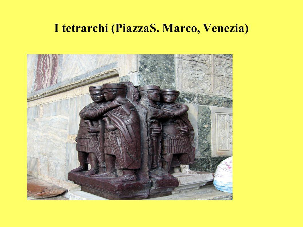 I tetrarchi (PiazzaS. Marco, Venezia)