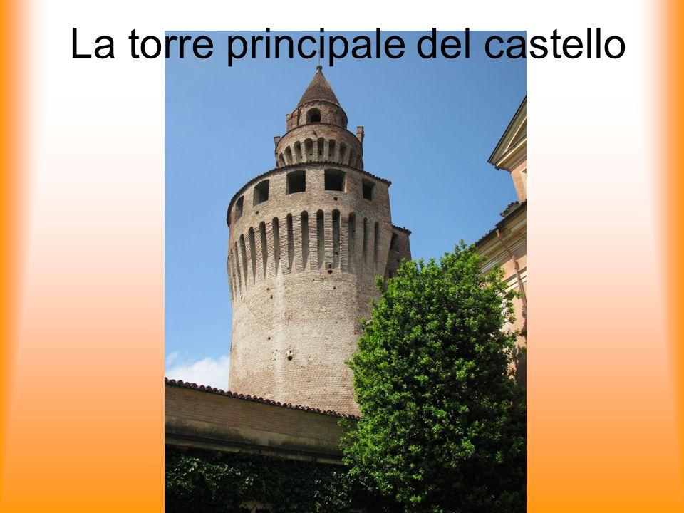 La torre principale del castello