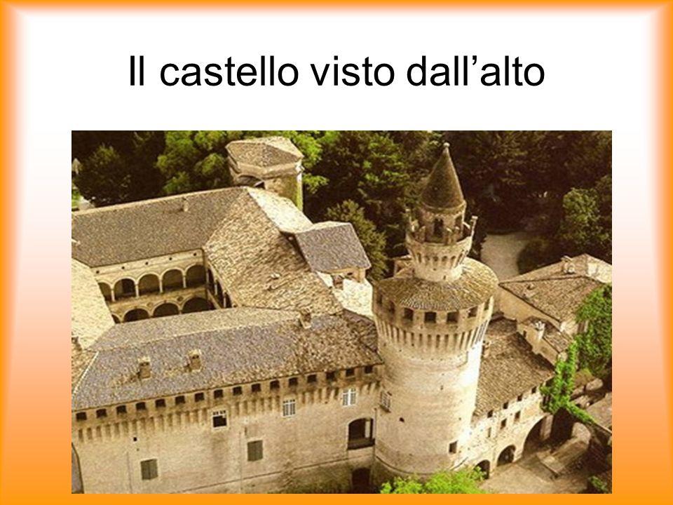 Il castello visto dallalto