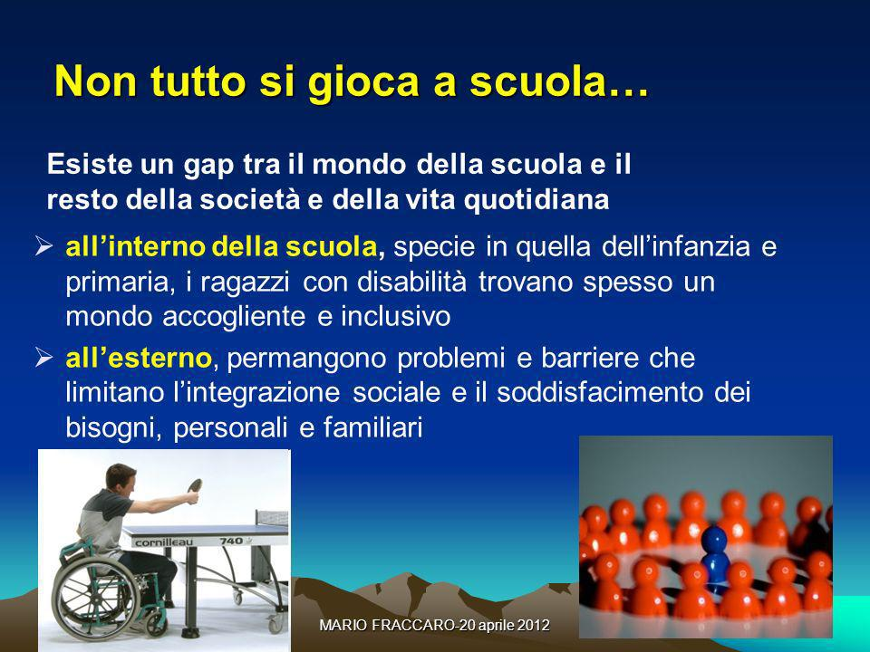 MARIO FRACCARO-20 aprile 201216 La crescita degli alunni con disabilità nel sistema scolastico italiano