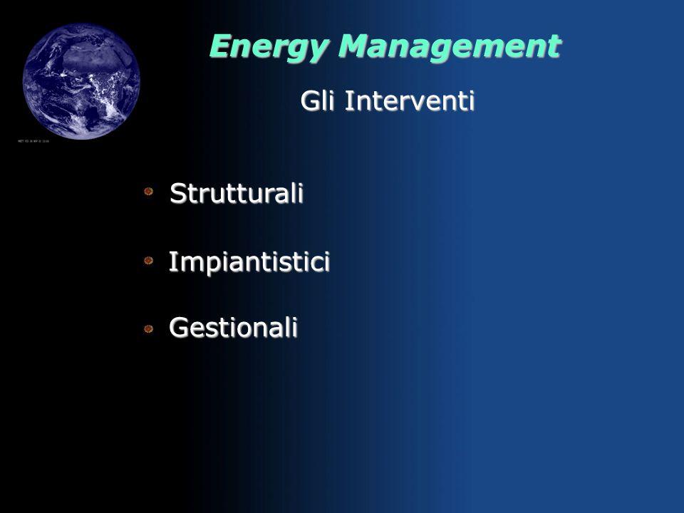 Energy Management REQUIREMENTS FUNZIONALI, DI FRUIBILITA, AMBIENTALI SCELTA MODALITA, MATERIALI, TECNOLOGIE VALUTAZIONE IMPATTO AMBIENTALE E PIANO SAV