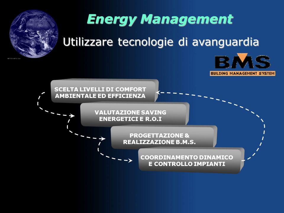 Energy Management Progettare pensando al domani REQUIREMENTS FUNZIONALI, DI FRUIBILITA, AMBIENTALI SCELTA MODALITA, MATERIALI, TECNOLOGIE VALUTAZIONE
