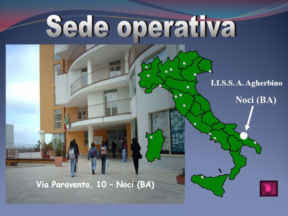 Via Paravento, 10 – Noci (BA) Noci (BA) I.I.S.S. A. Agherbino