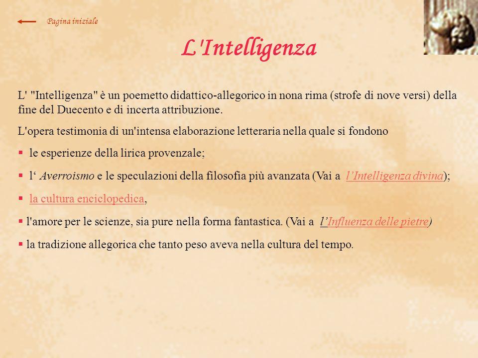 L'Intelligenza L'
