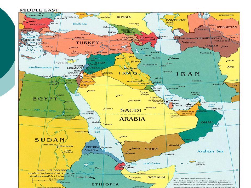 La presenza occidentale a Gerusalemme.