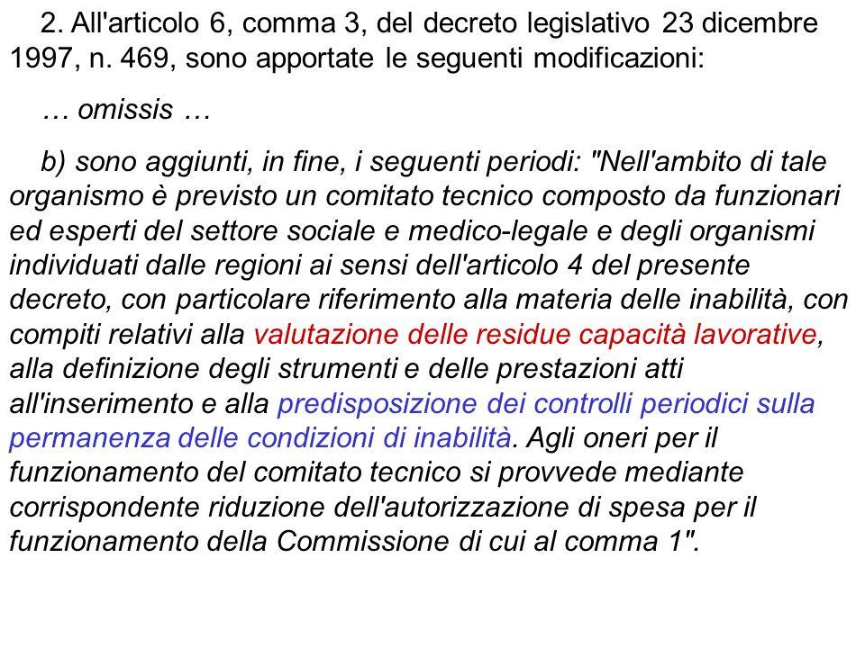 Art.10. (Rapporto di lavoro dei disabili obbligatoriamente assunti)...