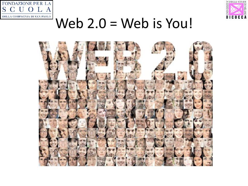 Web 2.0 = Web is You!