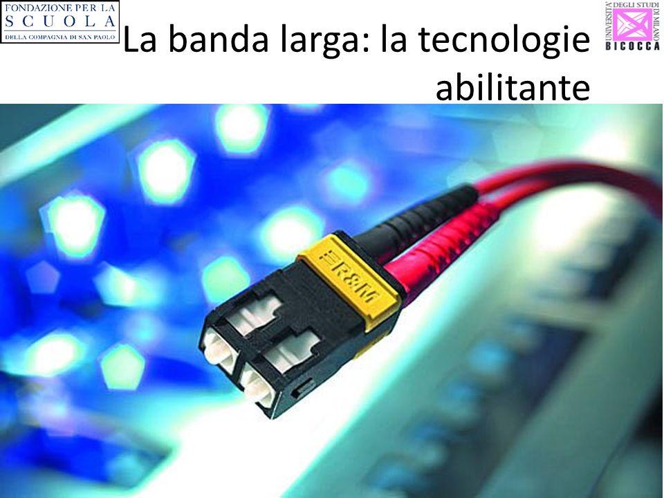La banda larga: la tecnologie abilitante