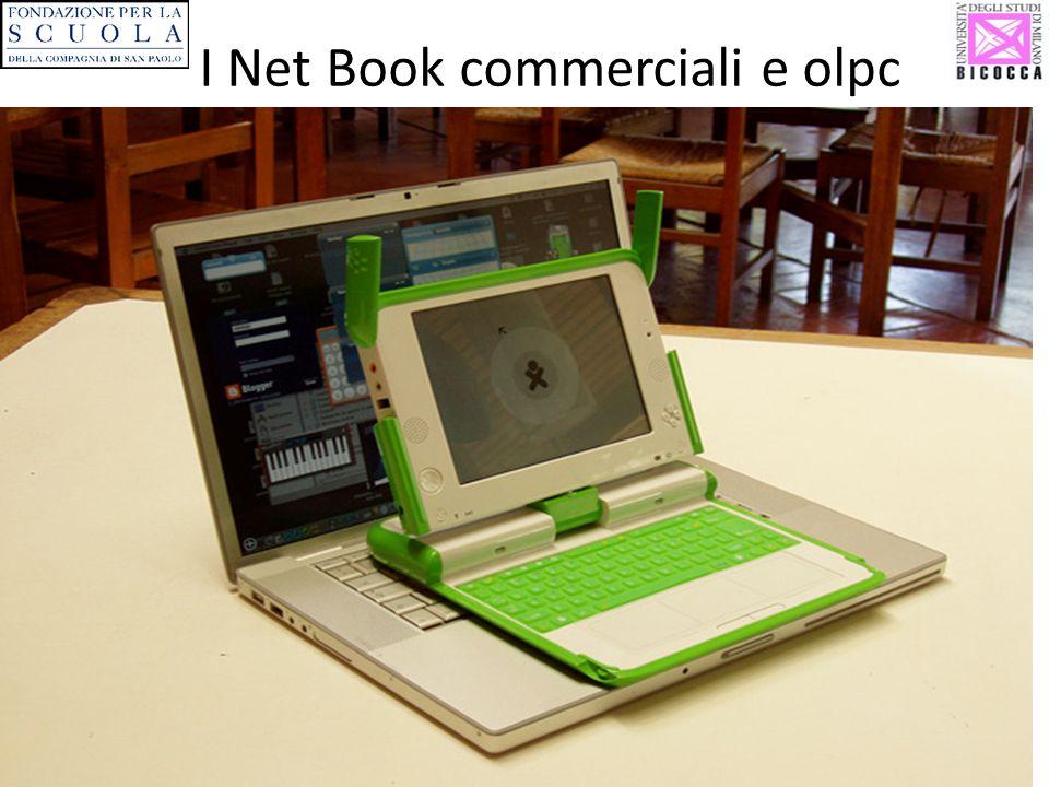 I Net Book commerciali e olpc
