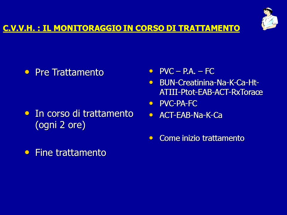 Pre Trattamento Pre Trattamento In corso di trattamento (ogni 2 ore) In corso di trattamento (ogni 2 ore) Fine trattamento Fine trattamento PVC – P.A.