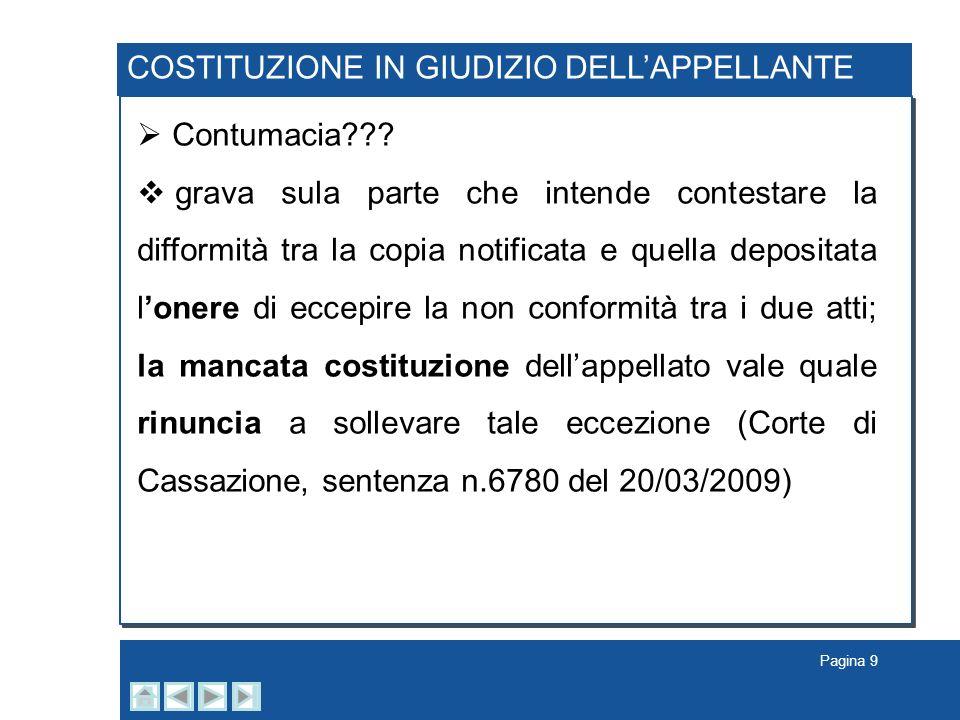 Pagina 20 LIMITI ALLA COMPENSAZIONE DELLE SPESE Compensazione delle spese di giudizio… leccezione, non la regola Art.
