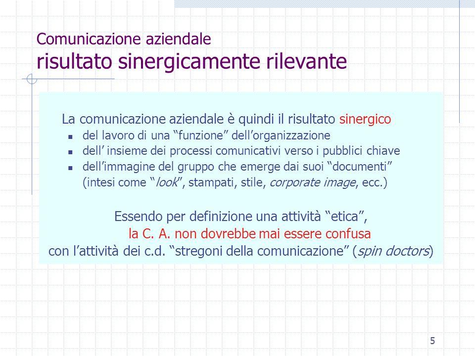 16 Comunicazione aziendale del comunicare 1.