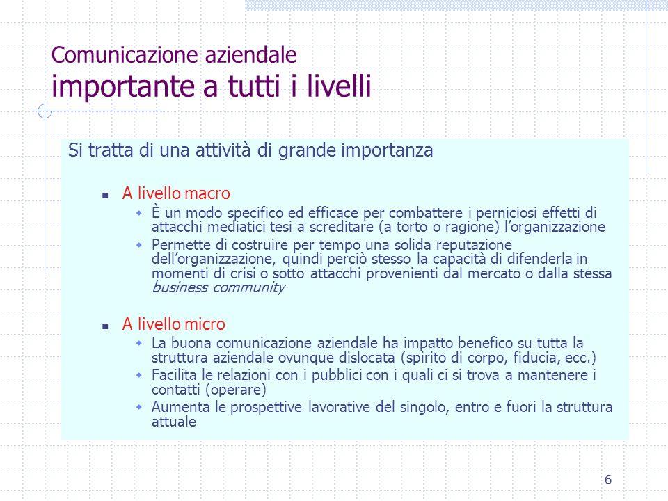 17 Comunicazione aziendale dei rapporti 1.