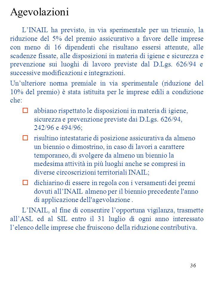 35 Vigilanza LINAIL dispone di un corpo di ispettori per: svolgere una vigilanza amministrativa in materia assicurativa; effettuare accertamenti tecni