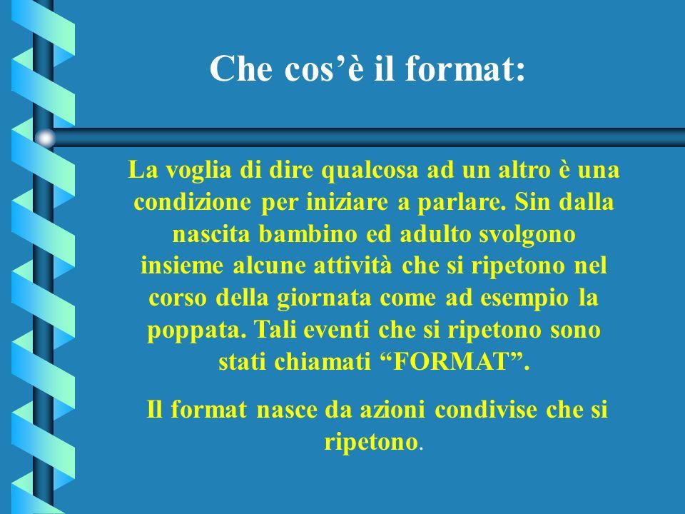 La metodologia del FORMAT Per lapprendimento della lingua straniera (inglese) nella scuola dellInfanzia e nella scuola Elementare Progetto Lingue 2000
