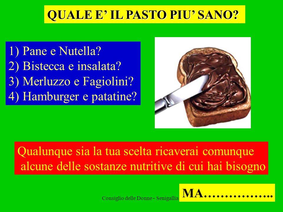 Consiglio delle Donne - Senigallia - BERE PER VIVERE E importante come mangiare cibi solidi.