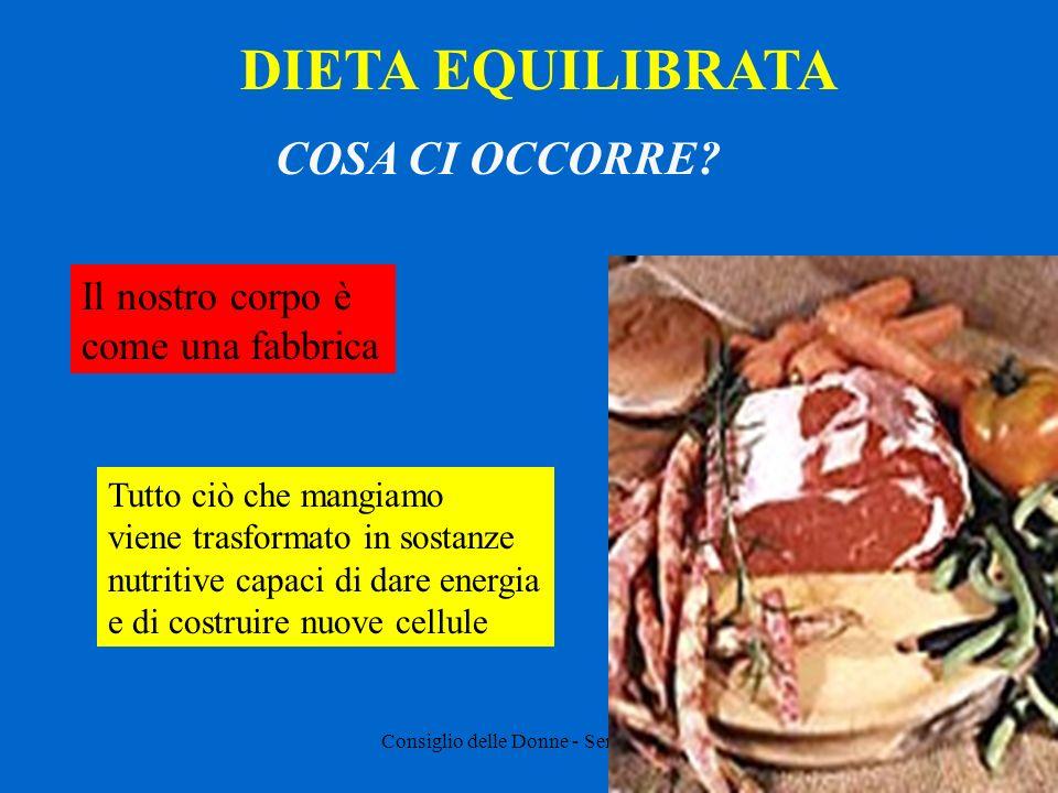 Consiglio delle Donne - Senigallia - Curiosità Perché cucinare gli alimenti.