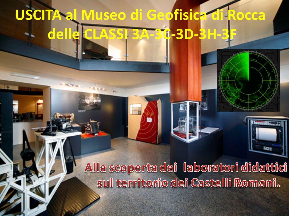 USCITA al Museo di Geofisica di Rocca delle CLASSI 3A-3C-3D-3H-3F