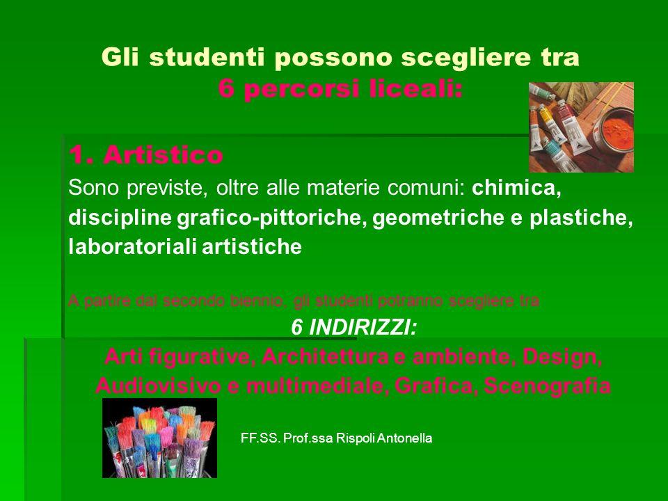 2.Liceo Classico Sono previste, oltre alle materie comuni, il latino e il greco.