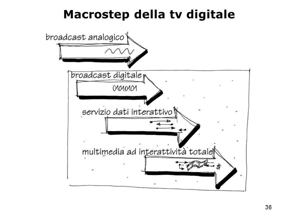 36 Macrostep della tv digitale