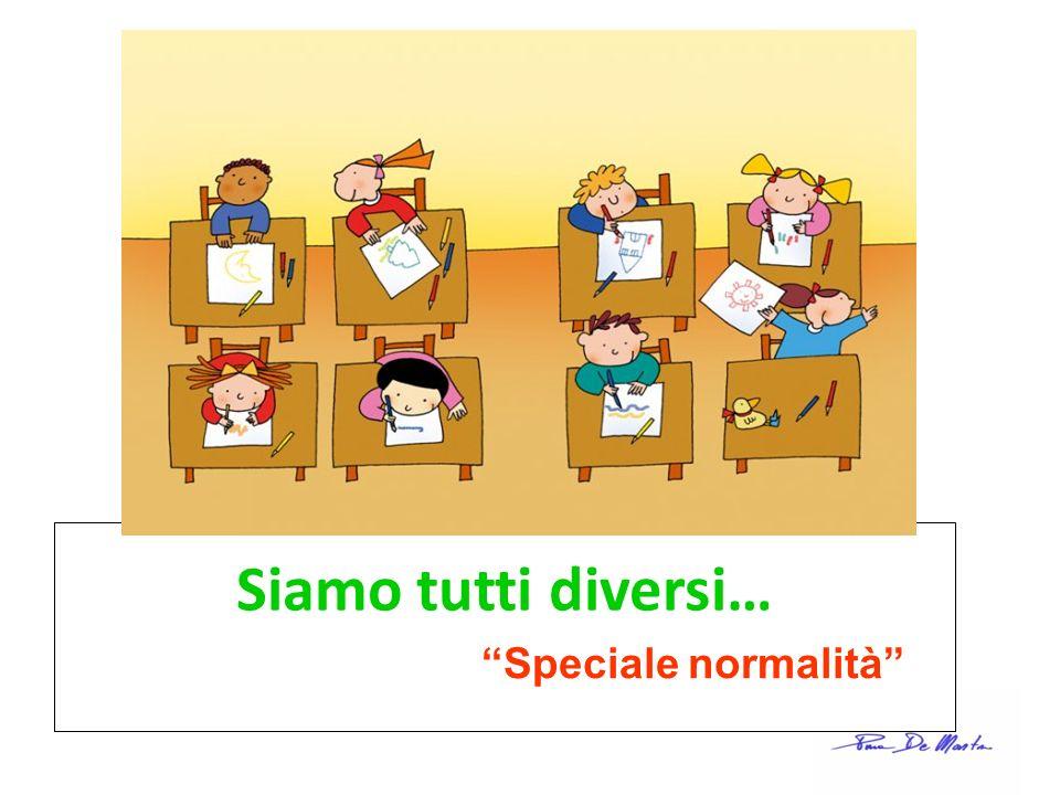 Siamo tutti diversi… Speciale normalità