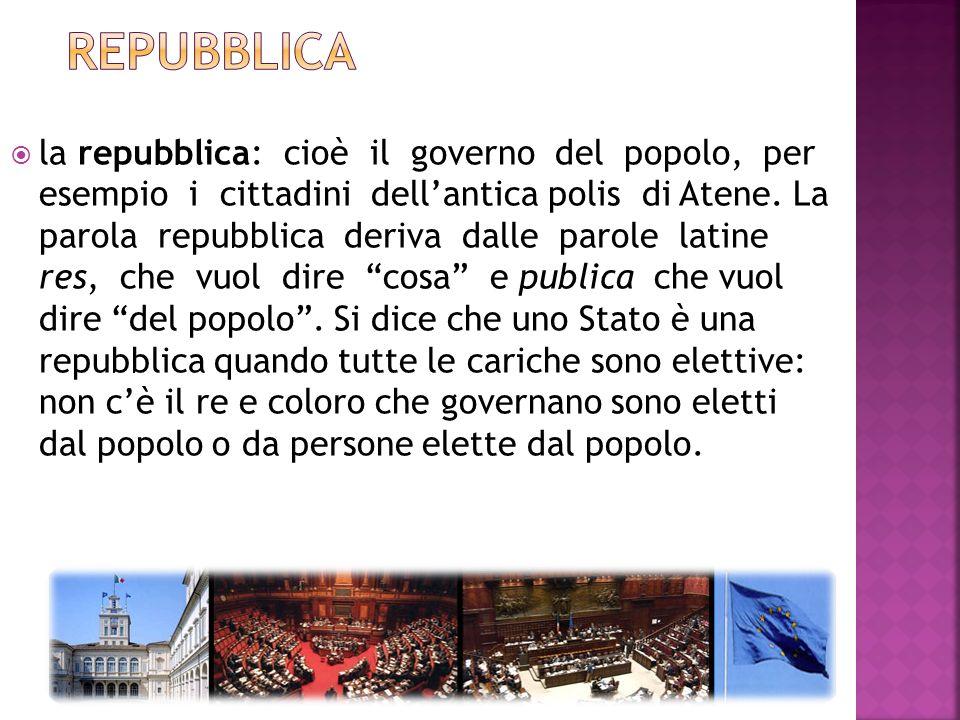 laristocrazia: cioè il governo di poche persone che sono considerate molto importanti, per esempio degli Spartiati nellantica Sparta. La parola aristo