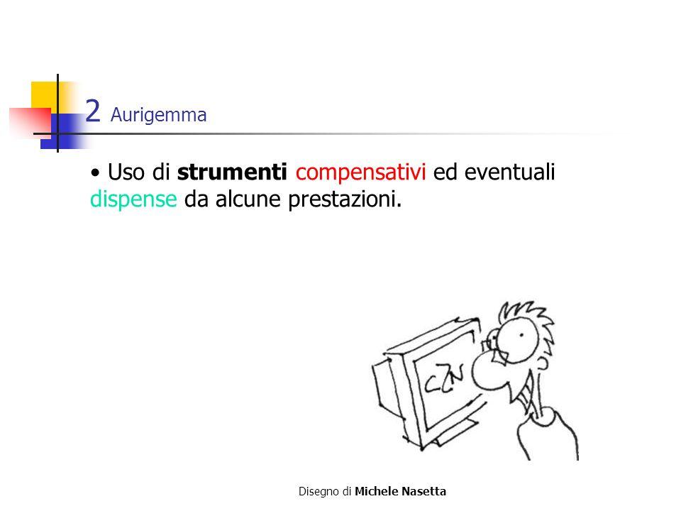 2 Aurigemma Uso di strumenti compensativi ed eventuali dispense da alcune prestazioni.