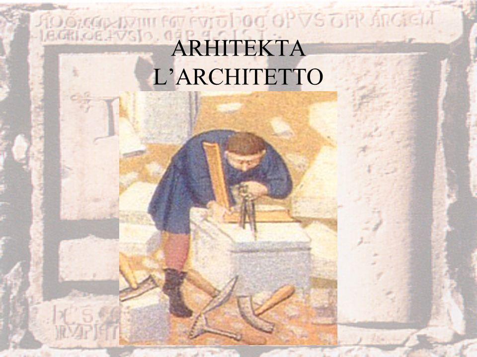 ARHITEKTA LARCHITETTO