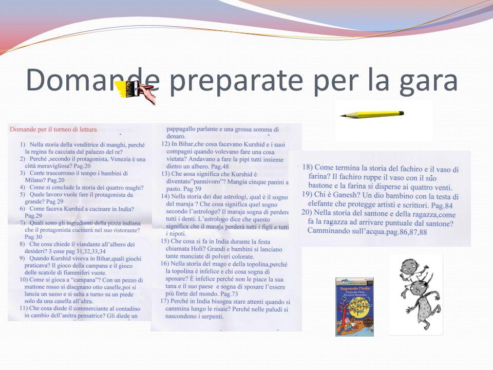Domande estratte N°1 N°2 N°3 N°4 N°5 N°6 N°7 N°8 N°9 N°10