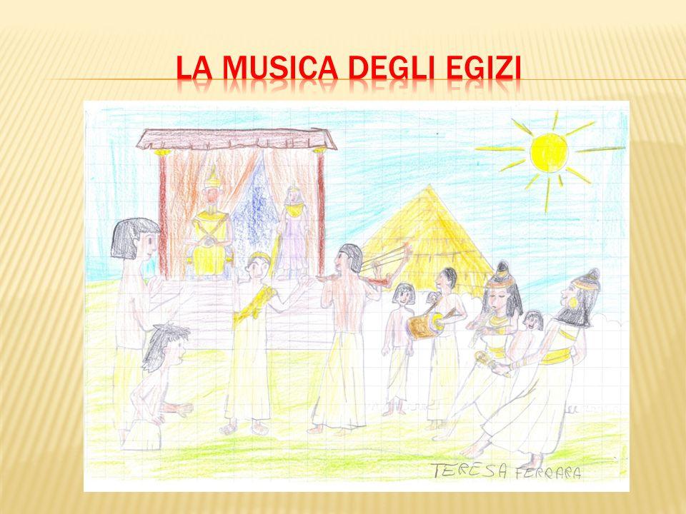 La musica sacra era dedicata alle tante divinità dellEgitto.