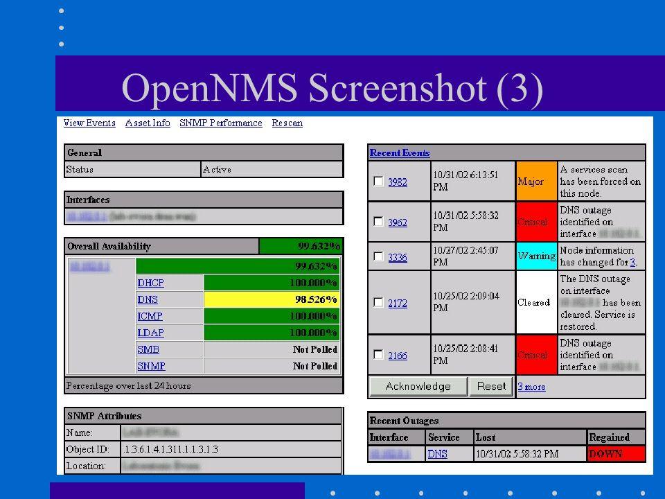 Gestione di RetiPhilippe Macaire OpenNMS Screenshot (3)