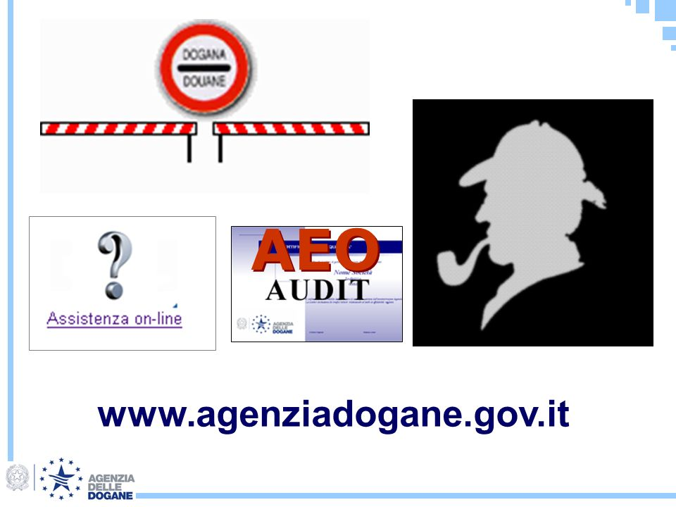 www.agenziadogane.gov.it AEO