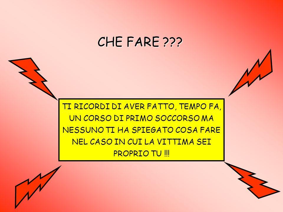 CHE FARE ??.