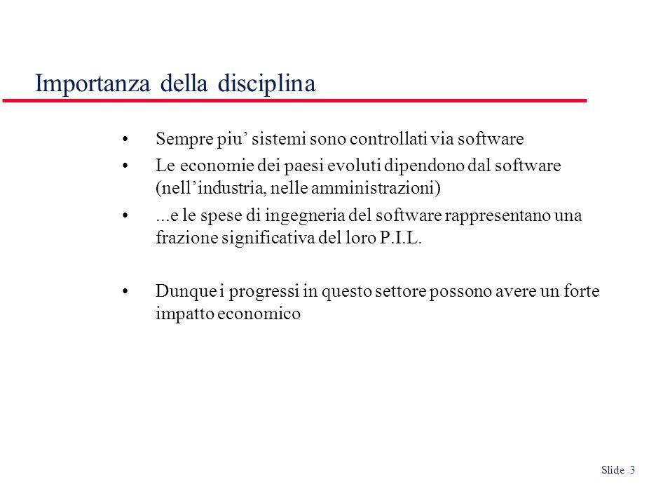 Slide 24 Riusabilità Come evolvable ma riferito a nuovi prodotti, anziché a versioni dello stesso prodotto.