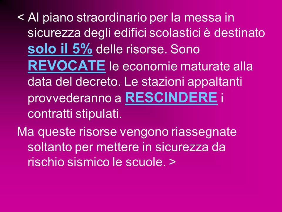 Ma evidentemente il nostro carissimo ministro non scende nelle piazze, o si reca nelle scuole di tutta Italia per una bella ispezione.