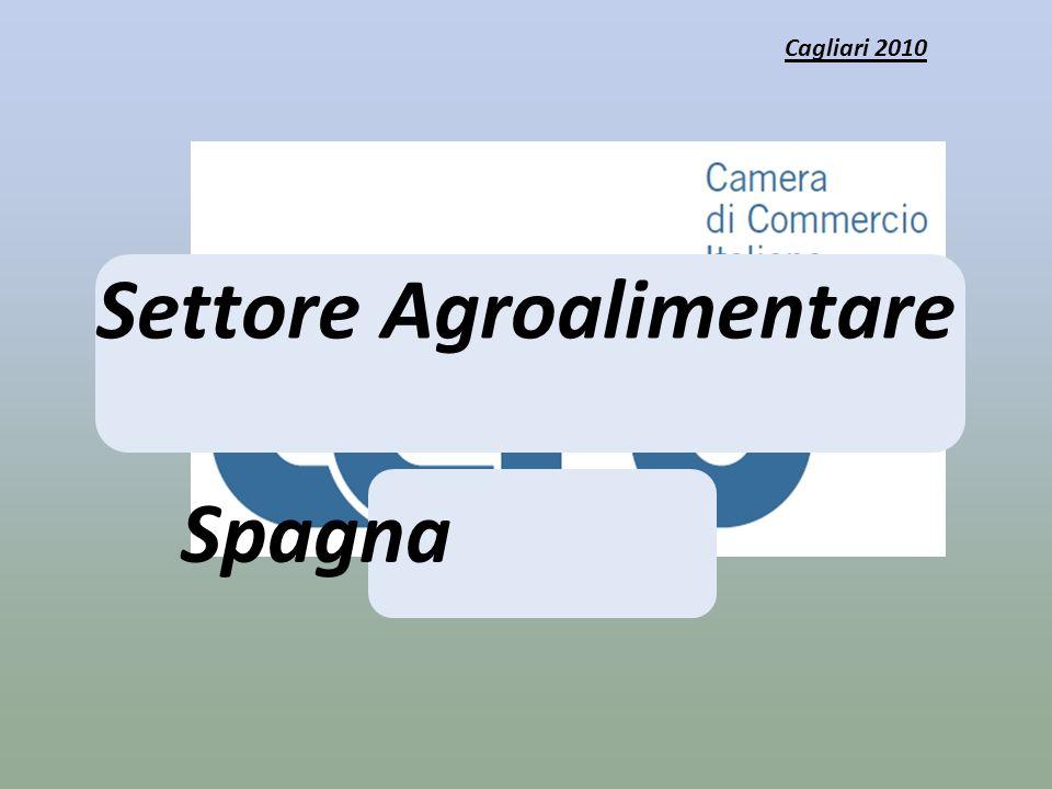 Settore Agroalimentare Spagna Cagliari 2010