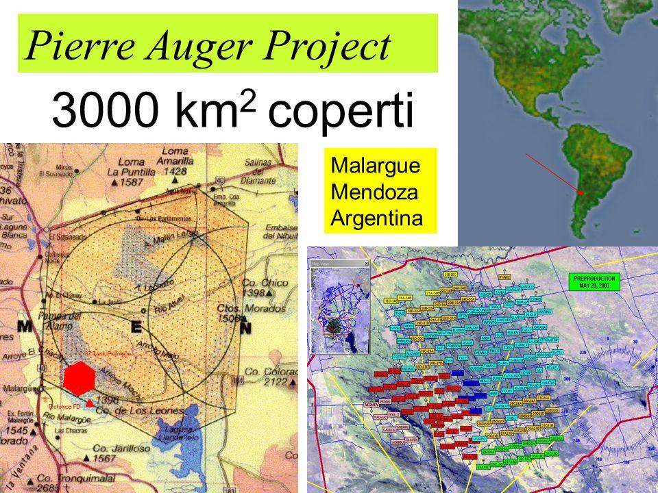 39 Pierre Auger Project 3000 km 2 coperti Malargue Mendoza Argentina