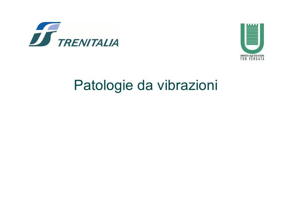 Patologie da vibrazioni