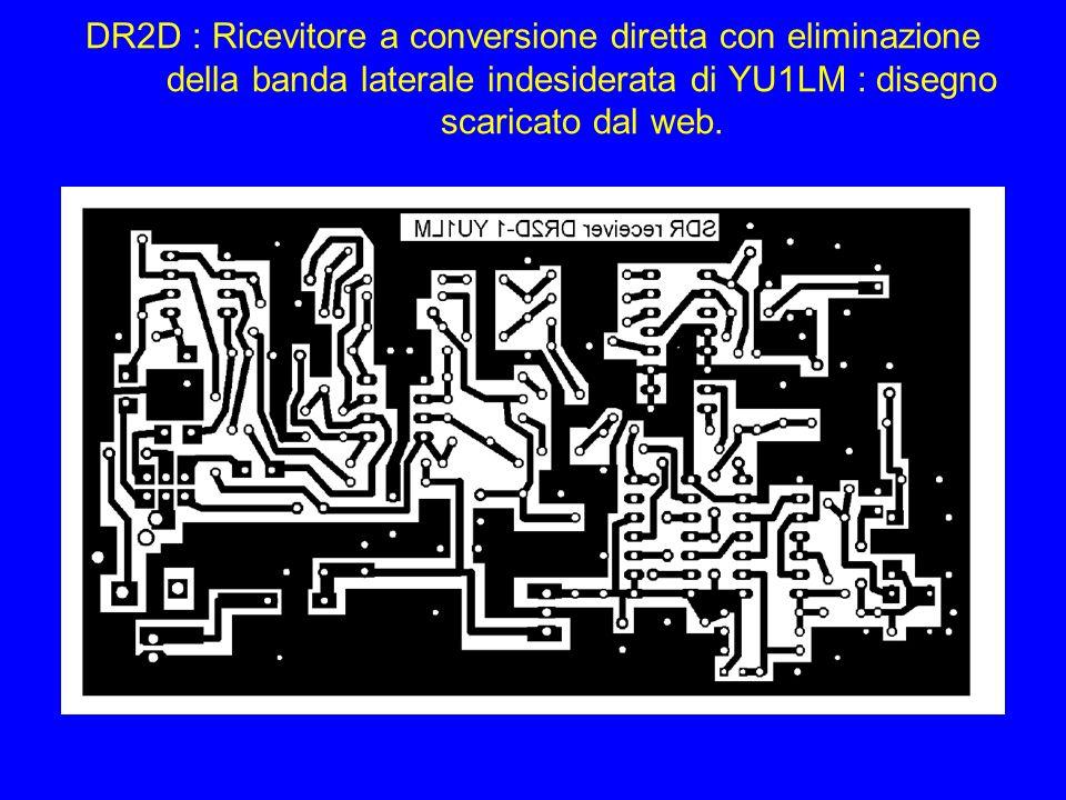 DR2D : Ricevitore a conversione diretta con eliminazione della banda laterale indesiderata di YU1LM : disegno scaricato dal web.