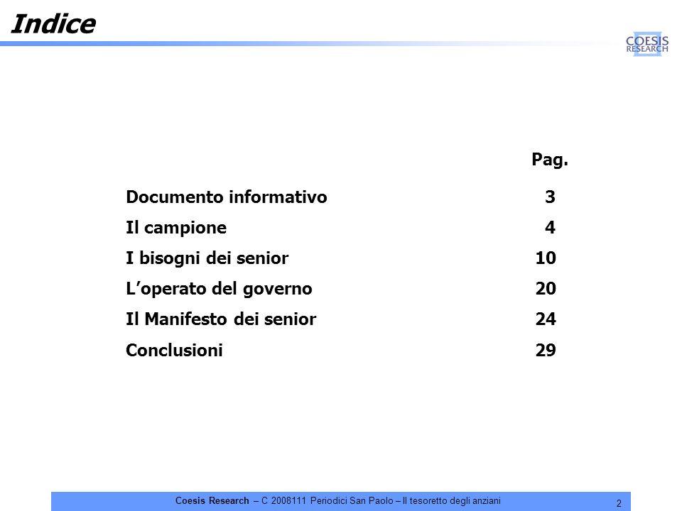 23 Coesis Research – C 2008111 Periodici San Paolo – Il tesoretto degli anziani D.