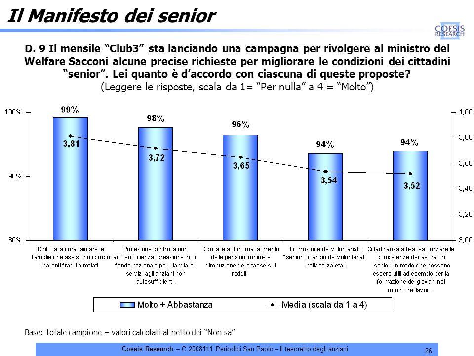 26 Coesis Research – C 2008111 Periodici San Paolo – Il tesoretto degli anziani D.