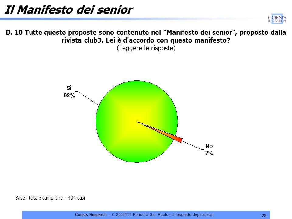 28 Coesis Research – C 2008111 Periodici San Paolo – Il tesoretto degli anziani D.