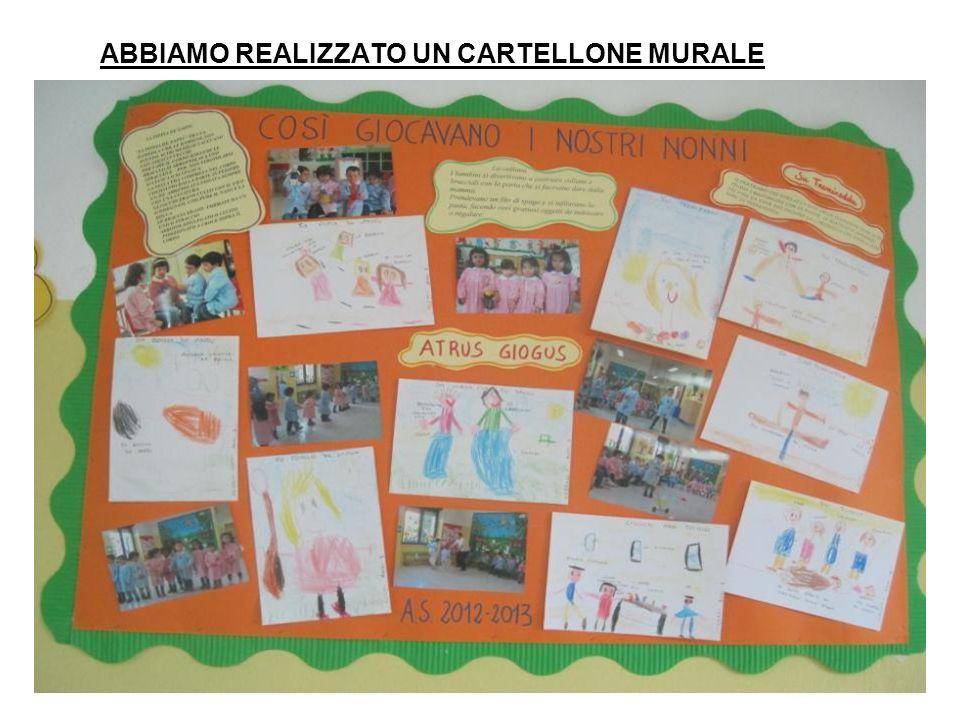 A conclusione del progetto si è svolta in data 05/06/2013 nel giardino della scuola primaria una mattinata di giochi che ha coinvolto i bambini della scuola primaria e le due sezioni della scuola dellInfanzia.