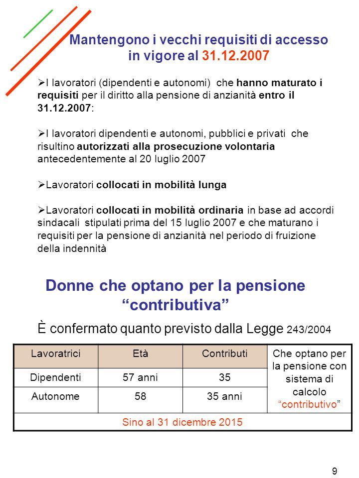 40 Incentivi alla stabilizzazione occupazionale Per lanno 2008 credito imposta per ogni giornata lavorativa dichiarata in più rispetto allanno precedente da parte delle aziende Importo pari ad 1 Euro x giornata aziende di cui obiettivo 1 Reg.